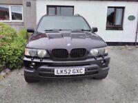 Black BMW X5 3.0D Sport Auto