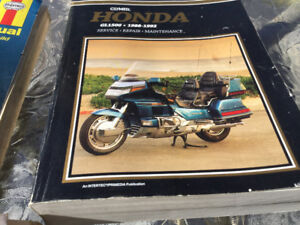 Gold Wing book