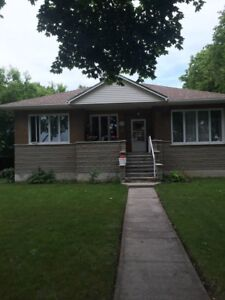Bungalow 7 1/2 for rent as of sept 1 must see