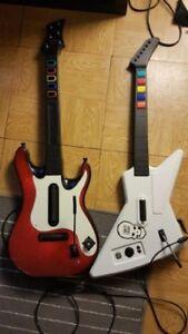 Guit de guitar hero / 2 pour 30$
