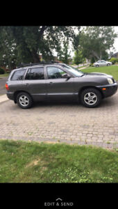2003 Hyundai Santa Fe. Only for those who can work on cars!!