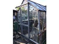 Glass green house