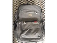 Brand new Lekebaby large baby changing bag in grey with multiple pockets for ease of use