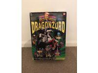 Power rangers original deluxe Dragonzord megazord - IN BOX MEGA RARE