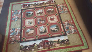 Beautiful Hand Made Quilt