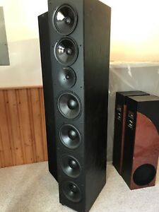 Nuance 6ft speakers and center channel