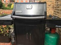 Weber gas barbecue