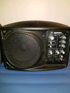 Pa or monitor or backup do speakers