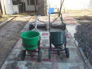 1 seeder/fertilizer  $15.