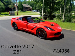 Chevrolet corvette Z51 1lt 2017 manuel Showroom