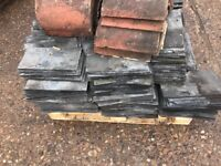 Second hand slates 13 by 7 inch with ridges to suit