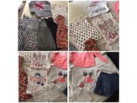 Large bundle of girls Clothes