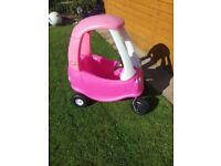 Cosy coupe rosy car