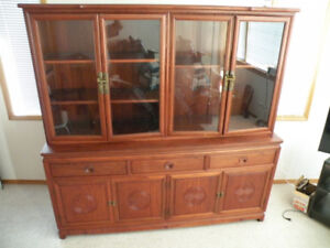Solid Rosewood Hutch from Singapore