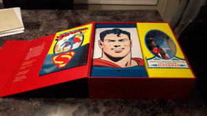 Superman masterpiece edition toy set new in box