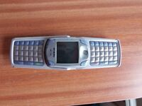 Nokia 6820A Vintage rare phone for sale. Unlocked comes with charger and good battery.