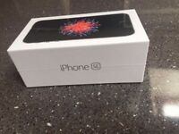New IPhone SE Space Gray, 32gb