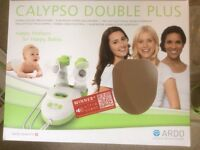 Calypso double electric breast pump