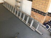 Aluminium Ladder (2 piece) 11ft 6 / 3.5 mtre Youngman