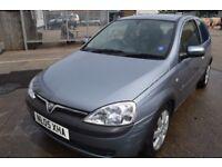 2005 Vauxhall CORSA IN GOOD CONDITION MOT UNTIL NOVEMBER 2017