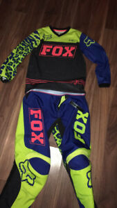 Girls fox  mx pants and shirt