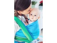 Never used - Little Frog Boulder Opal - baby wrap made of 100% soft cotton £70 ONO