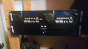 Pro Karaoke systeme duel decks and seperate control panel