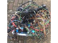 2010 bmw 320 e90 wiring loom complete from a se model