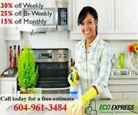Burnaby Cleaning Services Book today