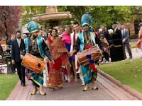 Dhol drummers for hire! The very best punjabi folk entertainment- all UK