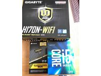 I5 6600k cpu h170n wifi mini itx motherboard and 16gb ddr4