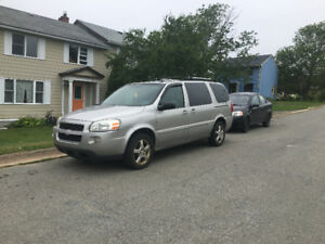 REDUCED. 2008 Chevrolet Uplander Lt Minivan, Van