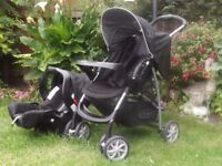 Graco Travel System & Baby Seat/Carrier - vgc.