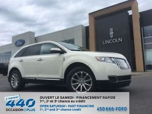 2013 Lincoln MKX 3,7L | CUIR, TOIT, NAVIGATION