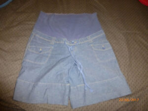 Maternity Denim Short