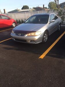 Honda accord coupe 2001