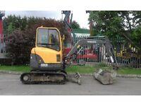 Volvo ECR28 2.8ton Track Excavator Digger