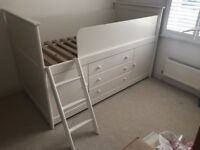 Huckleberry Cabin Bed - Great Little Trading Company (Lovely Space Saving Bed)