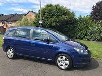 Vauxhall zafira 2007 ,2 keys, full service history, mot till 25/03/18 , 2owner, very good condition