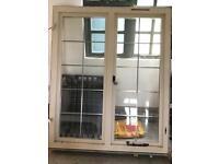 Large leaded window