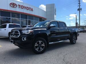 2017 Toyota Tacoma DBL CAB V6 LIMITED, NAVIGATION, LEATHER, MOON
