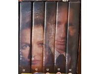 X Files Season 4 collection - VHS video tapes box set