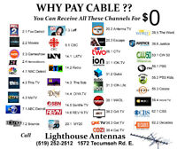 HD TV Antenna Installation & Complete Sales and Service