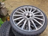 Ford ST alloys 18's 5x108 PCD