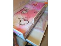 Toddlers bed with mattresses