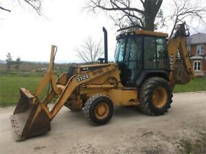 2001 John Deere 310E 4X4 Loader Backhoe