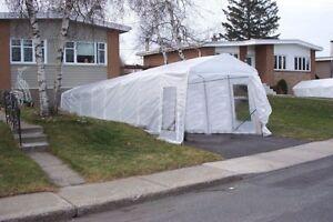 2 car tent, shelter, tempo, abri pour 2 voitures