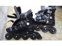 Inline skates. Size 5 - 8.