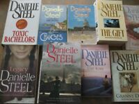 Selection of Danielle Steel paper back books