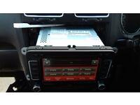 Genuine Used Volkswagen RNS-510 Satellite Navigation Head Unit